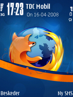 Firefox theme on Nokia N95