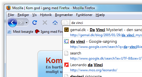 Gemaldk Mozilla Entries