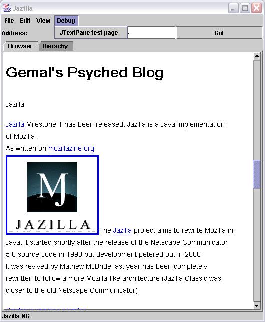 gemal dk - Mozilla Entries