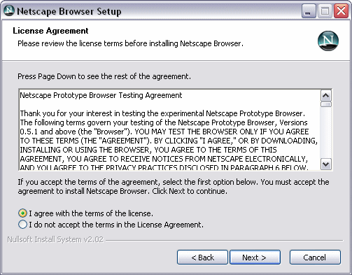 the for what fuck netscape not